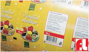 Tisk folij za pakiranje v živilski industriji